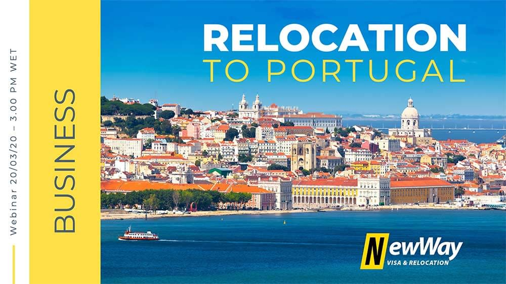 Webinar Business Relocation To Portugal